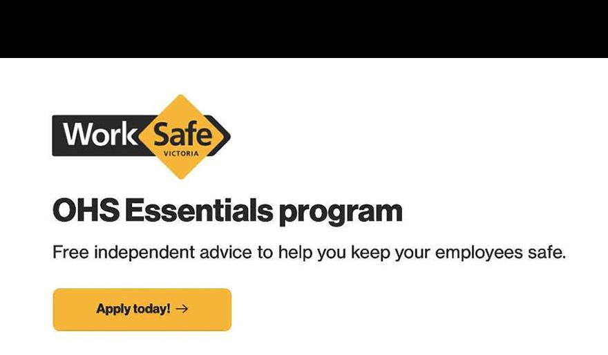 WorkSafe Victoria OHS Essentials Program provider