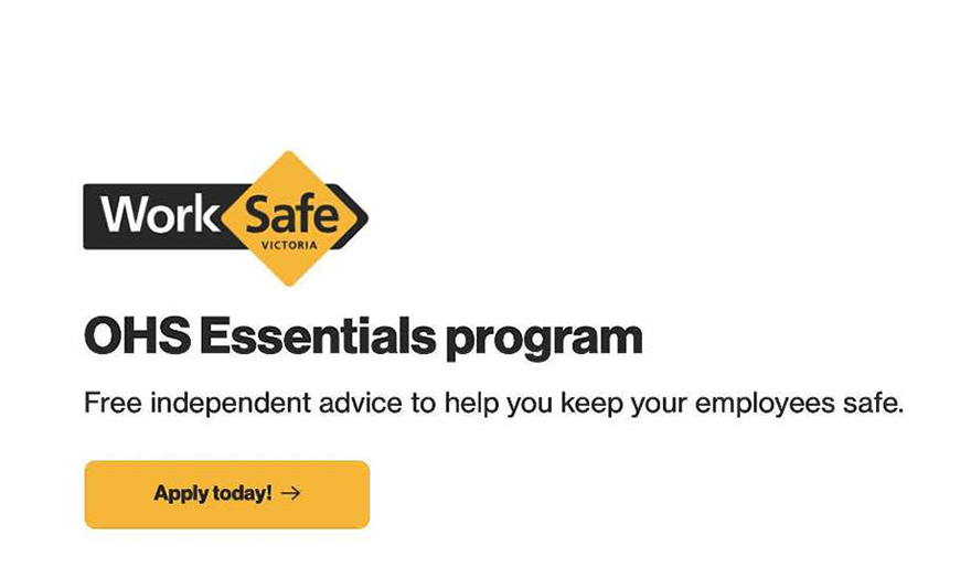 WorkSafe Victoria OHS Essentials Program provider